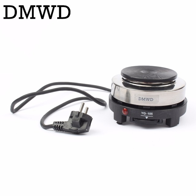 dmwd mini electric stove oven cooker small coffee heater mocha heating hot plates coffee milk