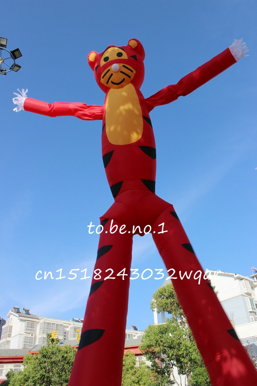 Inflatable Toys 6M 20FT Inflatable Tube Sky Dancer Air Dancer NO blower Inflatable Toys Shop ads sign S1008 цена и фото