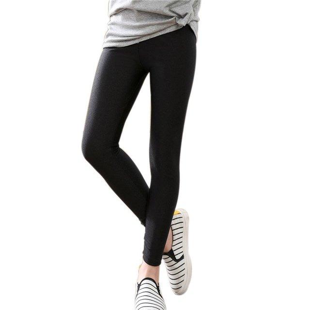 62560b7271c01 Spring Autumn Girls Kids Fashion Pencil Pants Ankle Length Leggings Baby Girls  Leggings Baby Girls Luster Leggings nz17