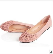 2014 NEW spring and autumn Casual Loafers pregnant woman nurse Driving Women shoes Slip-on leather Women's Flats shoes