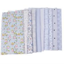 5b0794c3f7 Urijk 5/7/8/10 PCs Nova Floral Tecido de Algodão Para Costura Patchwork  Quilting Tecidos para Bonecas de Pano Material de DIY Pa.