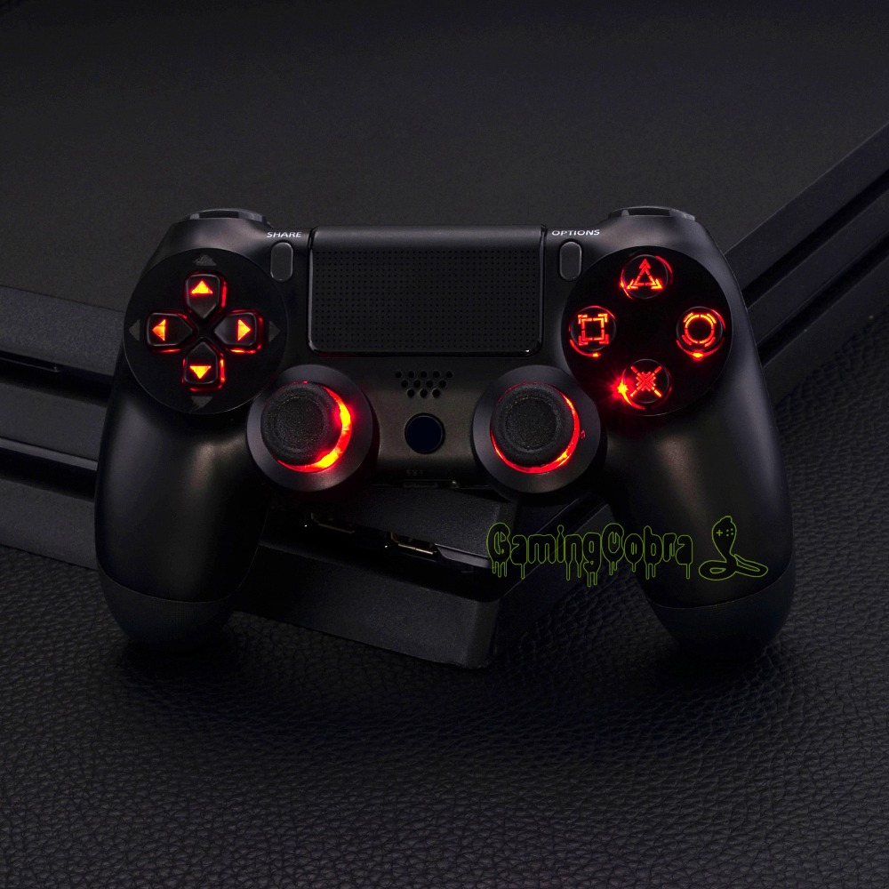 Multi Colors Luminated D Pad Thumbsticks Face Buttons Led