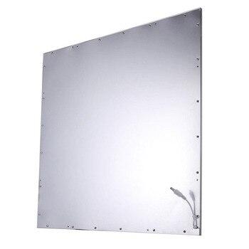светодиодные потолочные панели | 10 шт./партия, Квадратный светодиодный светильник 600x600 36 Вт 48 Вт 72 Вт, AC85-265V, встраиваемая подвесная Светодиодная панель