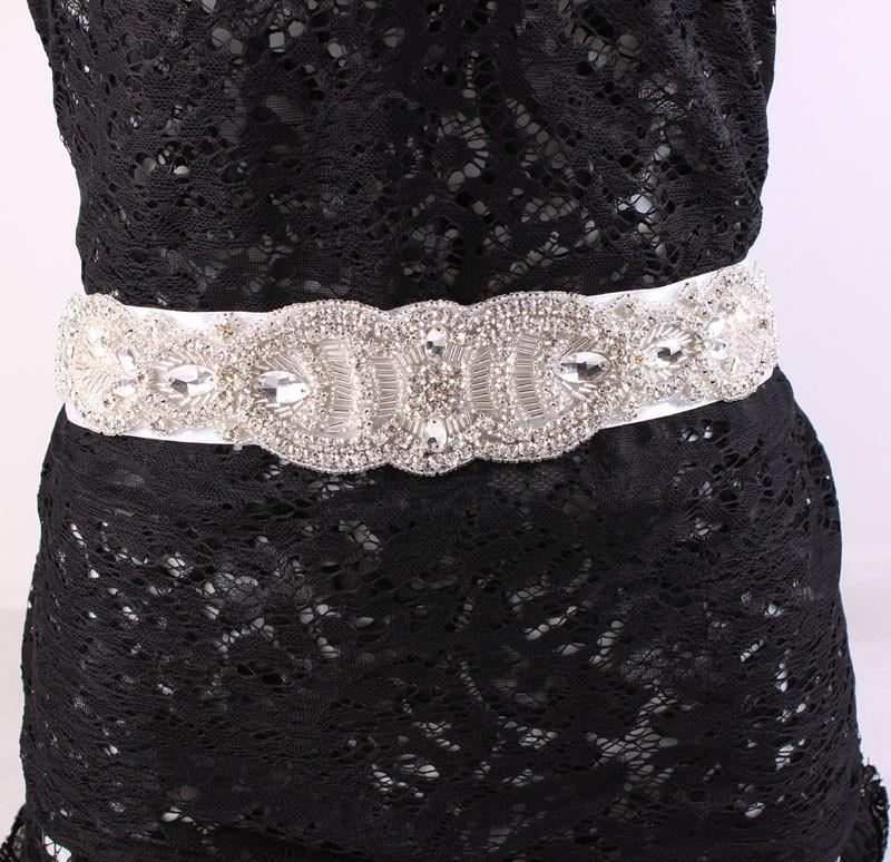 Vintage Style Rhinestone Bridal Belt wedding accessories