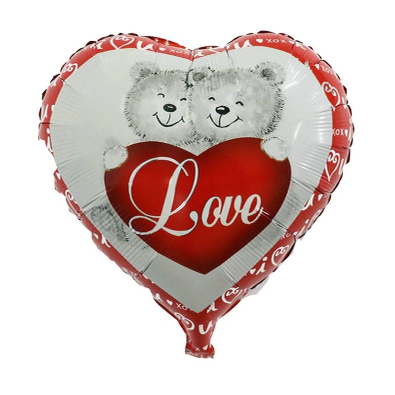 1 PC 18 pouces Bonne fête des mères en forme de coeur Feuille - Pour les vacances et les fêtes - Photo 4