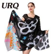 Письмо кисточкой шарф для женщин осень-зима женские длинные хлопковый шарф Шарфы для женщин платки большой платок новые женские Дизайн бренд класса люкс
