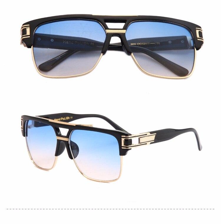 Peekaboo qualidade superior dos homens óculos de