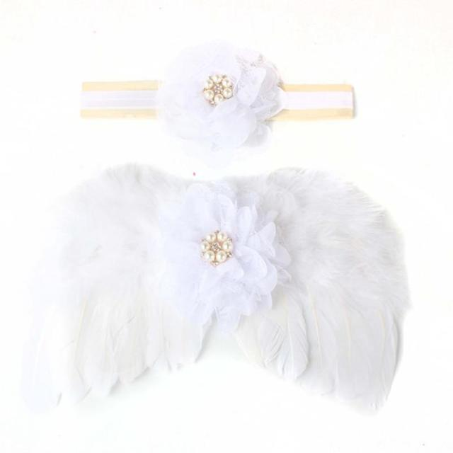 MUQGEW newborn hair accessories Angel wings baby haaraccessoires newborn photography props girl