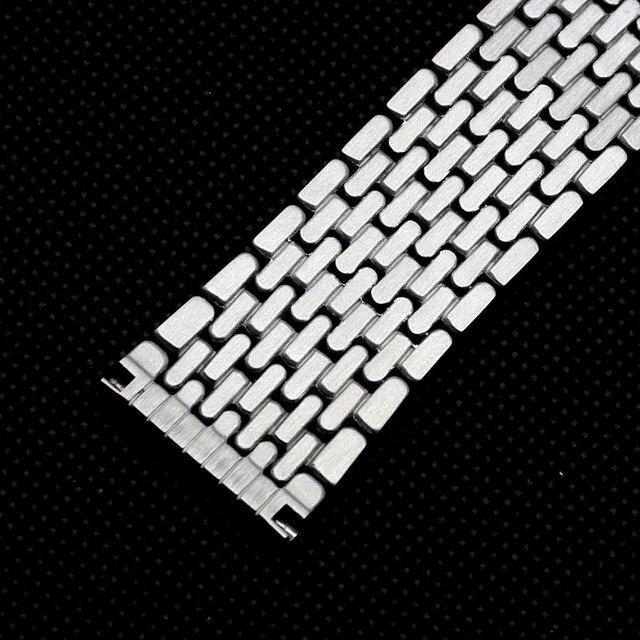 Correa de reloj de 18mm de Malla de marca para relojes de Plata GD015218