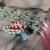 Rosa Borla Colgante de Plata Antigua Buda Anudados Mala Collar de Ágata Azul 8mm Perlas Manual para Los Regalos de Navidad de Las Mujeres
