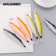Stationery Promotion-Pen Creative Fish-Ball-Pen And 1pcs School-Supplies Gift Ocean-Series