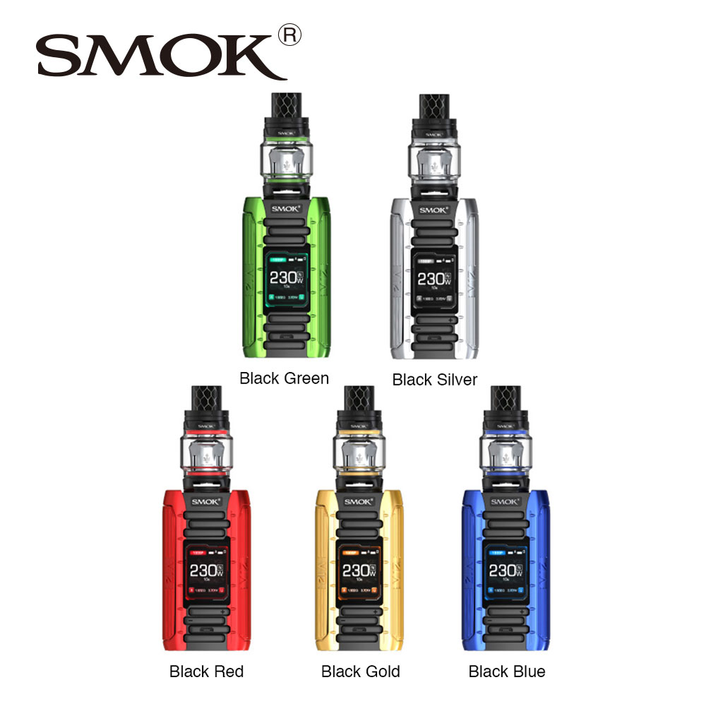 цена на Original SMOK E-Priv 230W TC Kit with 8ml/2ml TFV12 Prince Tank & Utilizes New V12 Prince Dual Mesh Coil E Priv Vs Smok X-priv
