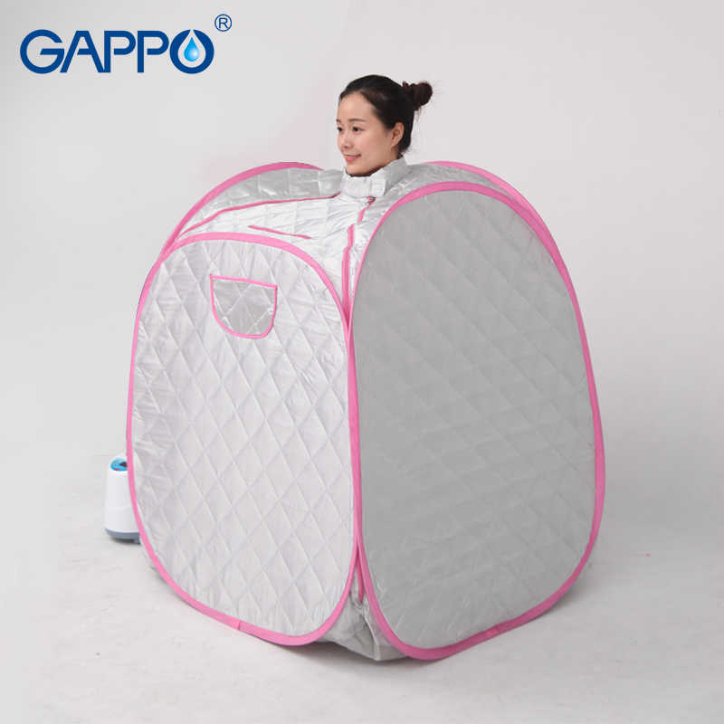 GAPPO Sauna parowa namiot do sauny korzystne dla skóry Sauna garnitury do utraty wagi strona główna pokoje wanna SPA z torba do sauny