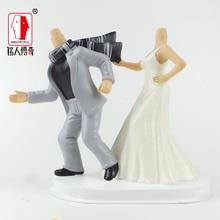 Wedding gift custom wedding Cake Topper Personalized Custom real doll custom clay dolls fixed resin body SR192