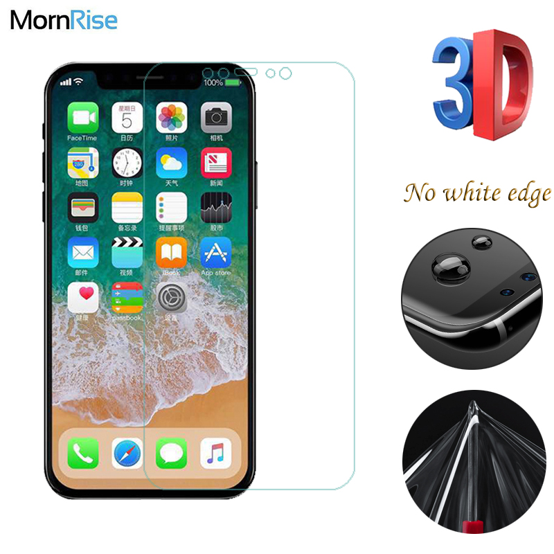 0.1mm Full Screen 3D Curved Hydrogel Film For Apple iPhone 8 TPU Screen Protector Nano Explosion proof For iPhone8 Soft Guard iphone