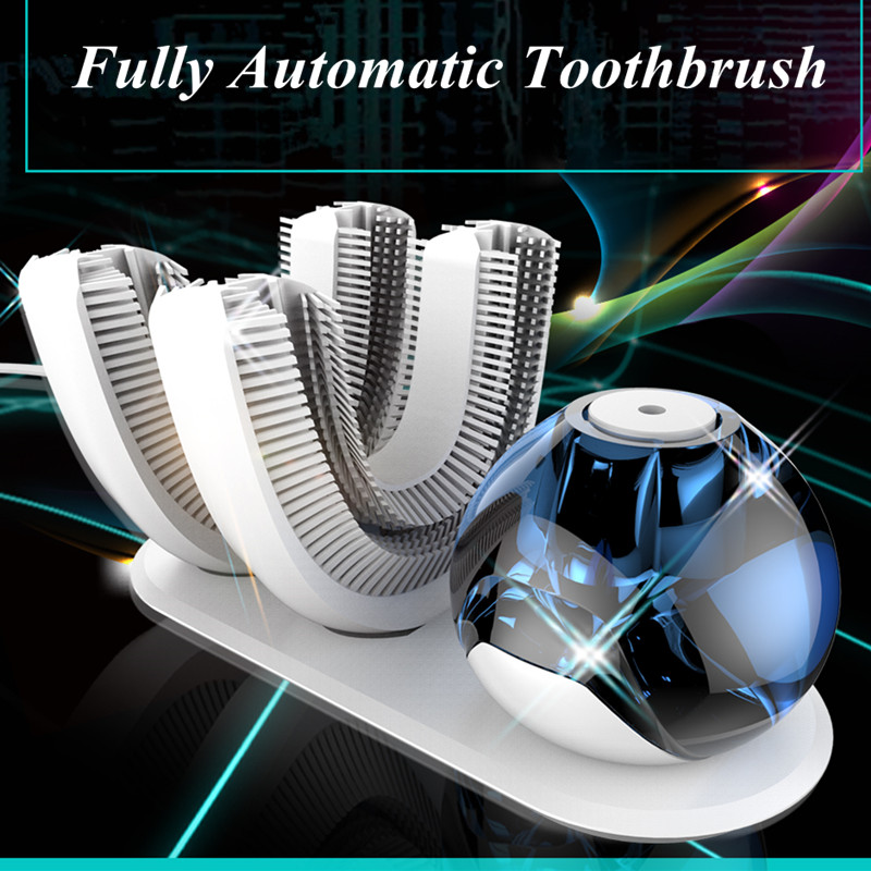 Fully Automatic Toothbrush 360 degree oral hygiene convenient 10 seconds cleaning toothbrush adult electric toothbursh