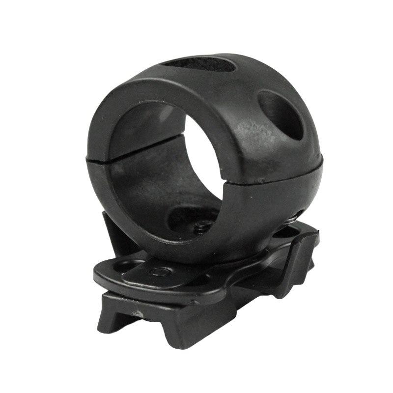 Страйкбола 24,5 мм шлем фонарик крепление зажим тактический фонарик Зажим адаптер для быстрого шлема легкий держатель шлем аксессуары