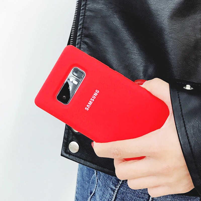 Samsung Galaxy S10 Ốp Lưng 5G Chính Hãng Samsung S8 S9 S10 Note 10 Plus 5G Cover Note 8 9 10 S10 Mềm Silicone Lỏng Lưng Ốp Lưng Điện Thoại