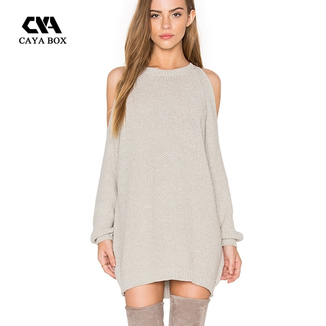 Sexy Sweater Dress Women's
