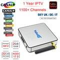 YOKATV KB2 Android Caixa De TV 2 GB RAM 32 GB Rom Amlogic Octa S912 núcleo 2.4G/5G Dupla WIFI BT4.0 XBMC DLNA 1000 M LAN 1 Ano Europa IPTV