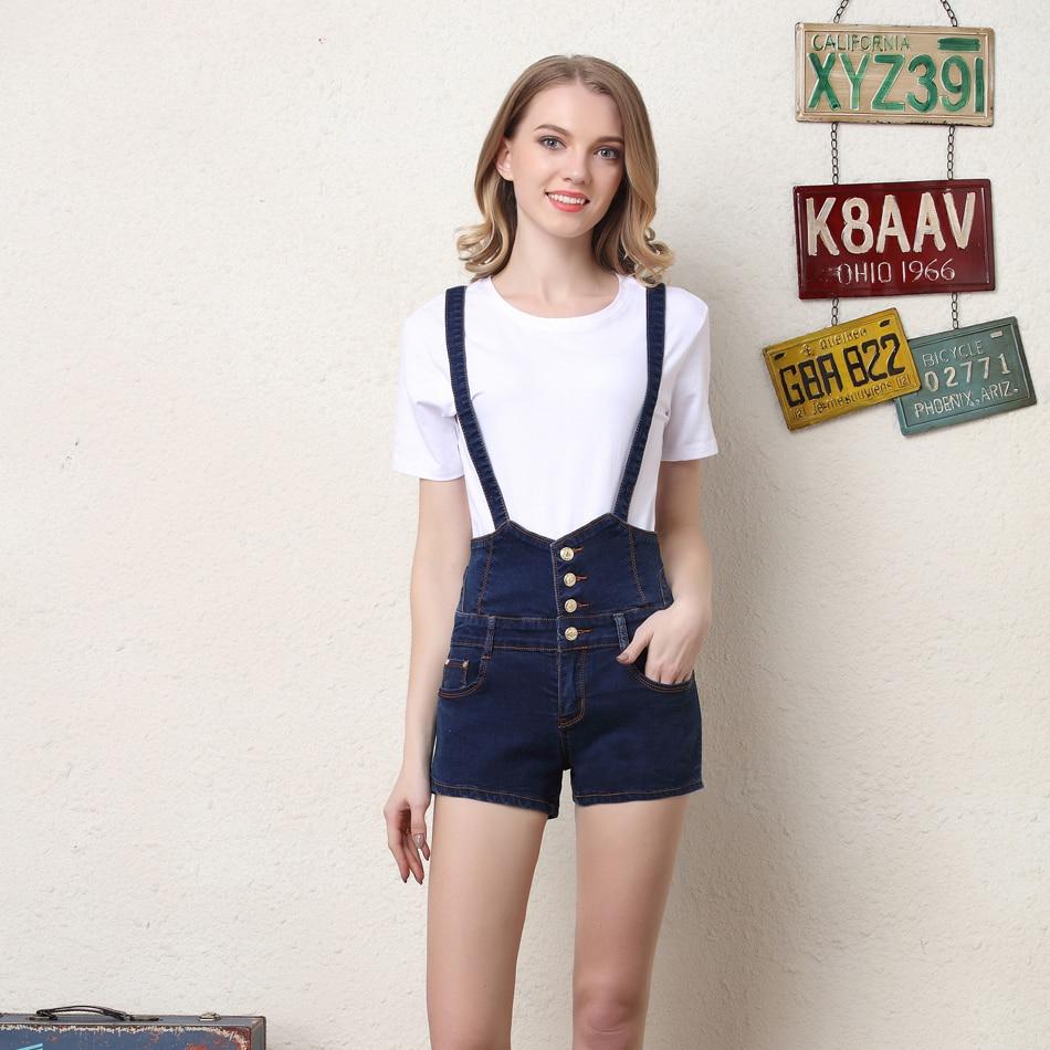 Popular High Waist Suspender Shorts-Buy Cheap High Waist Suspender ...
