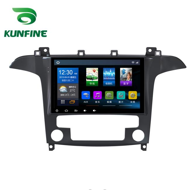 Quad Core 1024*600 Android 6.0 Car DVD GPS Navigation Player Deckless Car Stereo For Ford S-MAX 2007-2008 Radio Headunit wifi quad core 1024 600android 6 0 car dvd gps navigation player deckless car stereo for honda accord 2008 2013 2 0l radio headunit