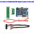 Mini HDMI LVDS Controller Board for iPad 3 4 9.7 inches Resolution 2048x1536 EDP Signal 4 Lanes 51 Pins LCD Display Panel