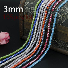 Ball Faceted Chinese Crystal Loose Beads 3mm 200pcs High Quality Round Sphere Shape for Jewelry Making Bracelet DIY Hot Sale