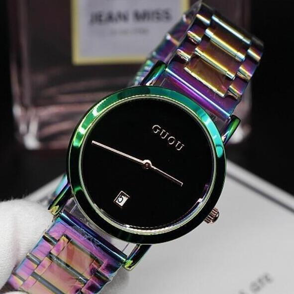 Excellent Qulaity Women Watch!Luxury Fashion Crystal Bracelet Watch Female Rainbow band Dress Watch Ladies Colorful Wristwatches недорого