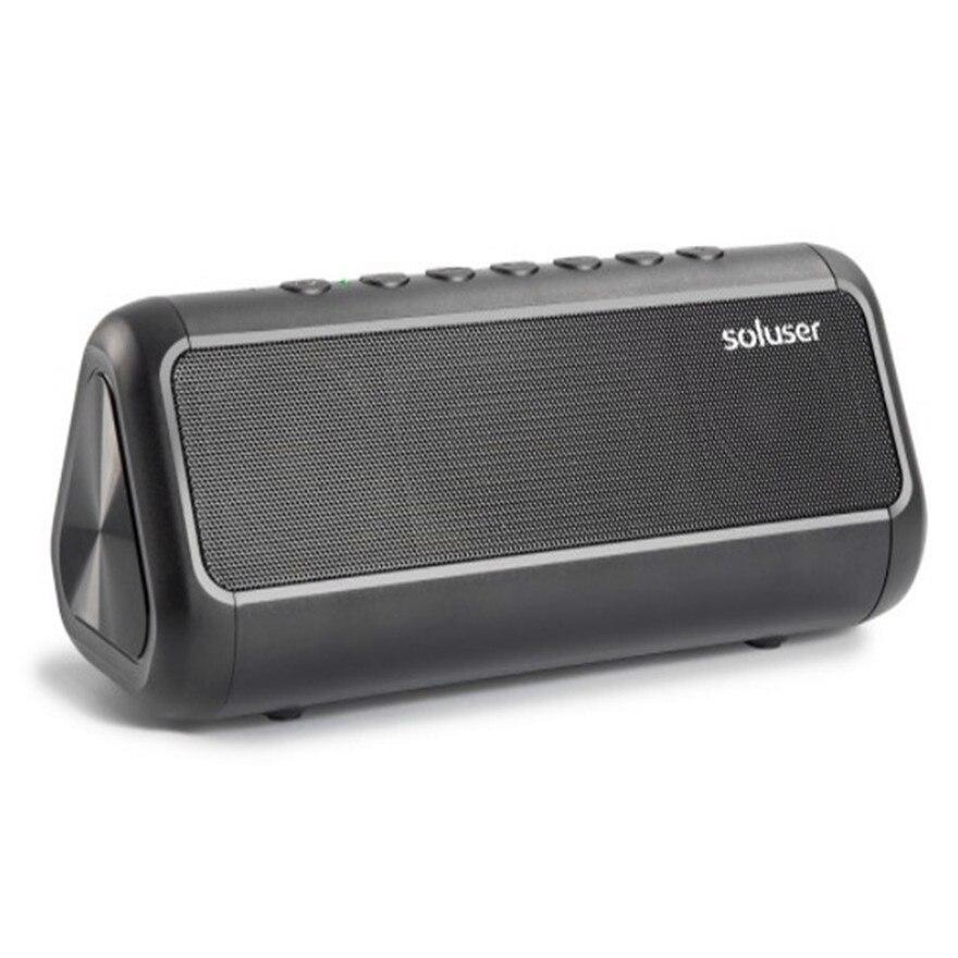 Système acoustique haut-parleurs Bluetooth haute puissance Boom Box colonne son système Hi Fi Bluetooth haut-parleur basse solaire Audio boîte de son