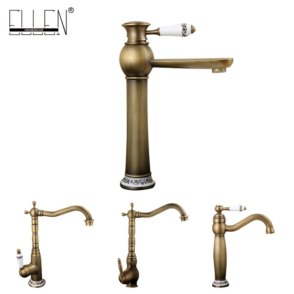rustic bathroom faucets promotion shop for promotional rustic antique copper faucet rustic bathroom sink tap antique brass kitchen faucets torneiras para pia de banheiro