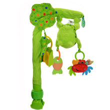 Mobile Bendable Baby Crib Hanging Toy Bed Bell Music & Teethers Rustle Paper