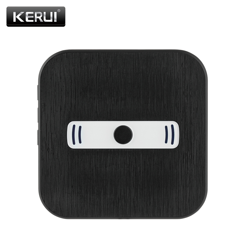 Kerui ZC10001 Wireless doorbell button EU/US/UK Plug for WiFi video doorbell crocs 10001 817