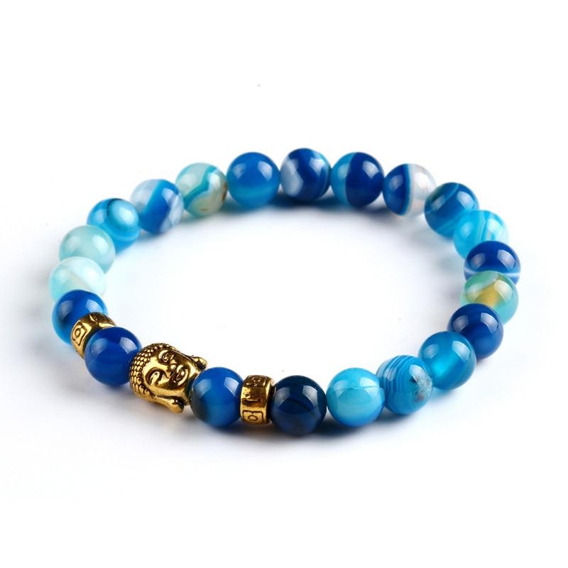 Tiger eye beads bracelet natural stone for women and men 3