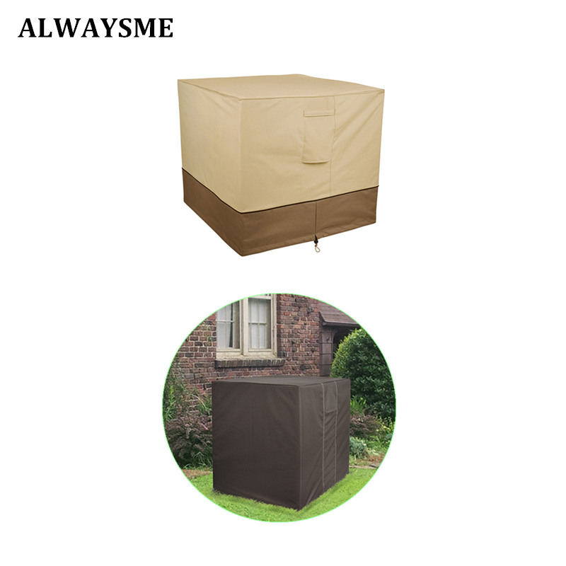 Patio Air Conditioner Cover: ALWAYSME Durable And Water Resistant Premium Outdoor Patio
