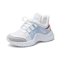 49ea66d12 2018 Women Shoes Woman High Platform Sneakers Wedges Large Size 42 Female  Fashion Thick Soled Casual. US $37.46 US $20.23. 2018 mulheres sapatos ...