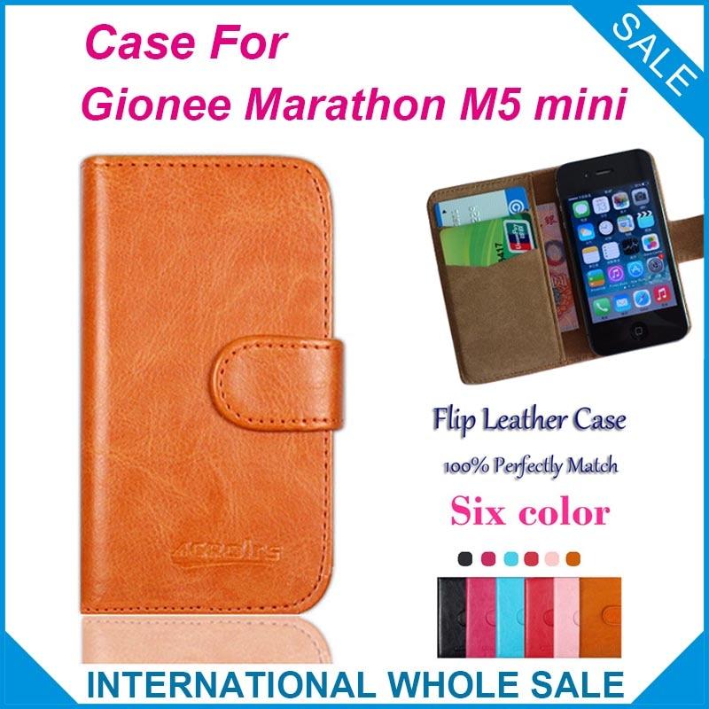 designer fashion 8a4d5 f6338 US $4.59 8% OFF|Hot! 2016 Gionee Marathon M5 mini Case,6 Colors High  Quality Leather Exclusive Case For Gionee Marathon M5 mini Cover on ...