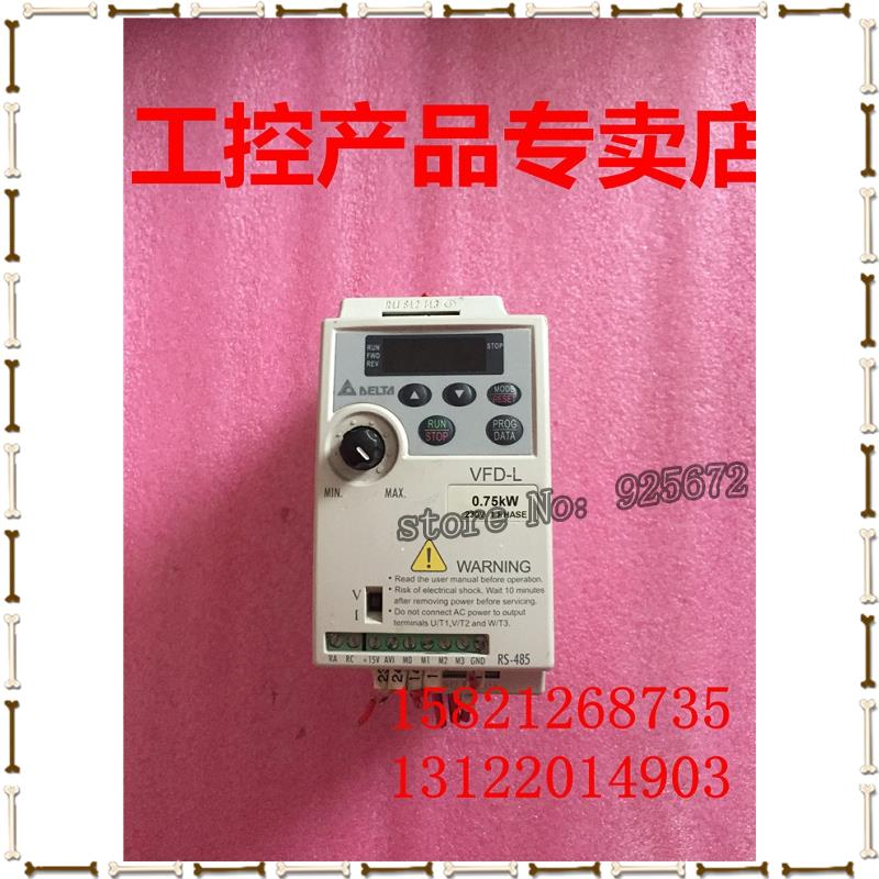 VFDS-L series inverter VFD007L21A 0.75KW 230v new and original parts.VFDS-L series inverter VFD007L21A 0.75KW 230v new and original parts.