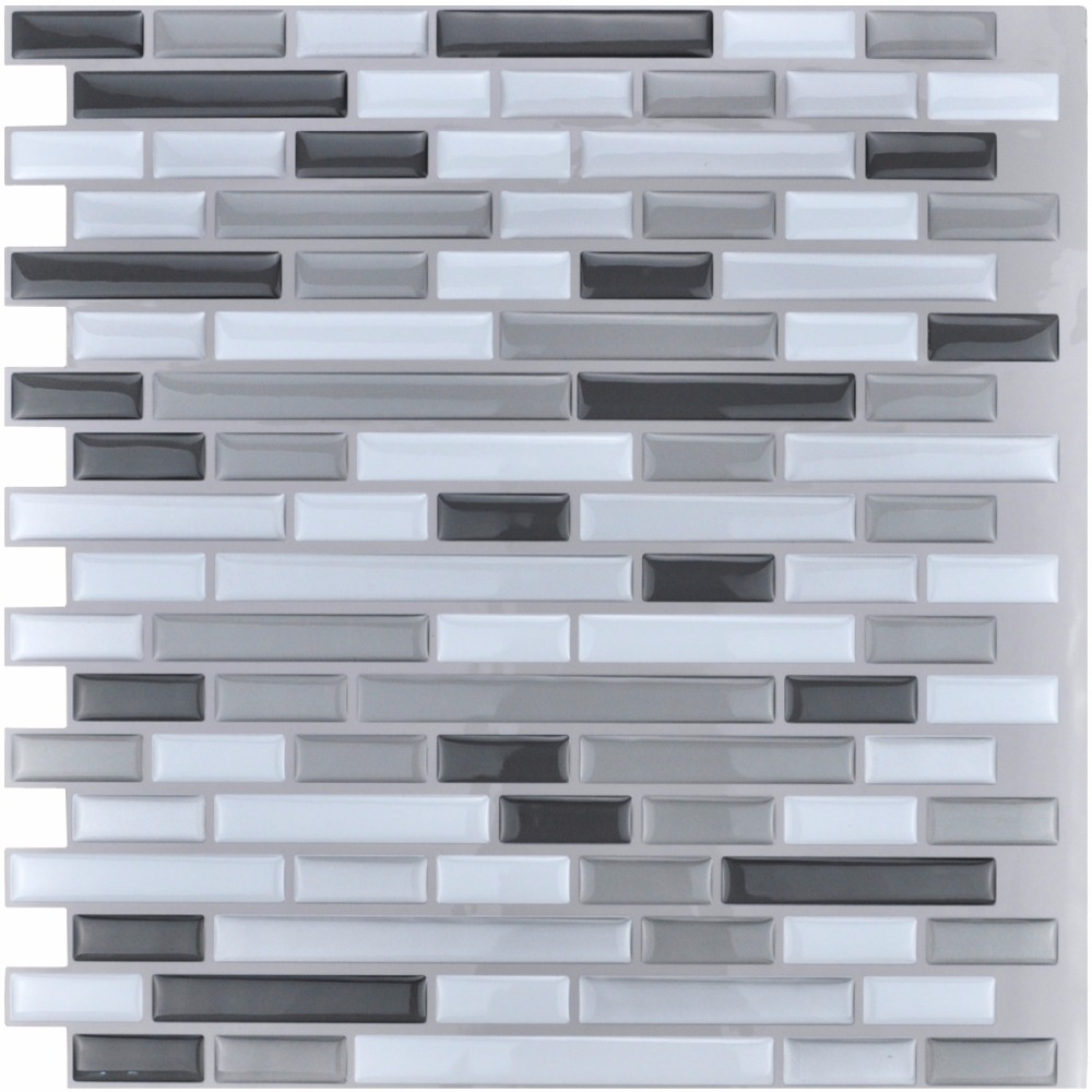 keuken tegels stickers : Peel En Stick Tegels Keuken Backsplash Tegels 12 X 12 3d