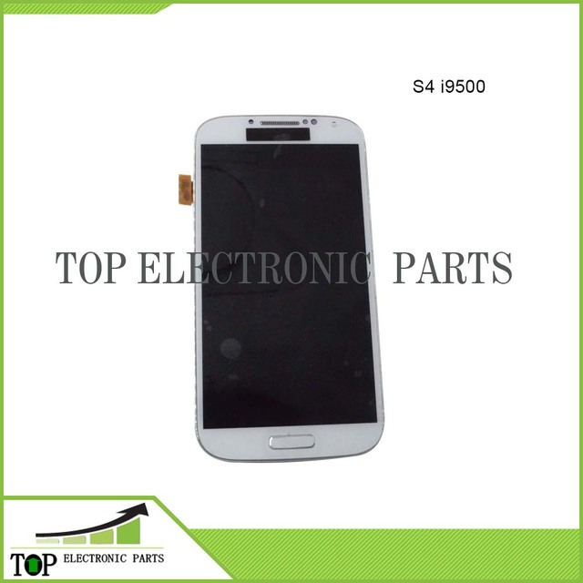 OEM AAA for Samsung Galaxy S4 i9500 GT-i9500/ i9505 GT-i9505 LCD display with touch screen digitizer assembly with middle frame
