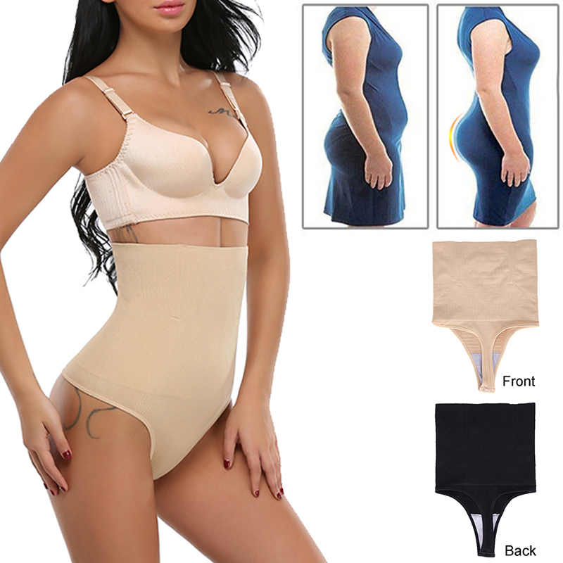 e0075baa8d6 Miss Moly Women Sexy Thong Tummy Control Slimming Panties High Waist Trainer  Seamless Shapewear Girdle Bodysuit Body Shaper-in Waist Cinchers from  Women s ...