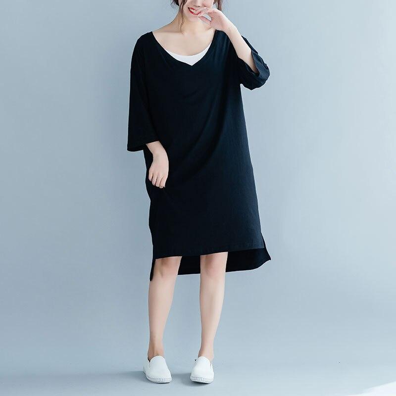 3b3a0611af BelineRosa 2019 Women s Short Sleeve T-shirt Dress Summer Simple ...