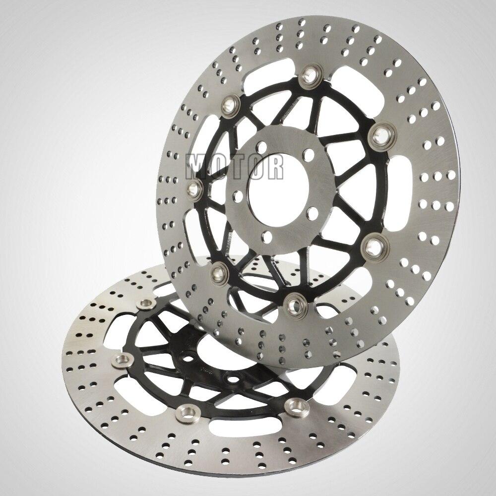 2 pièces haute qualité pour Kawasaki ZZR400 ZXR400 ZRX400 ZZR250 accessoires moto disques de frein avant Rotors ZZR 250 ZXR ZRX 400