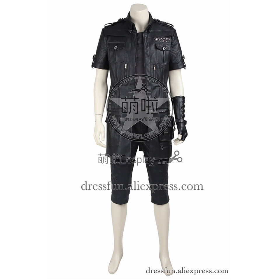 Final Fantasy XV Cosplay Costume Noctis Lucis Caelum Costume Uniform Outfits Full Set Uniform Halloween Christmas Party