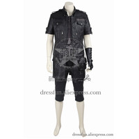 Final Fantasy XV Cosplay Costume Noctis Lucis Caelum Costume Game Combat Uniform Outfits Full Set T shirt Halloween Jacket Party