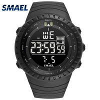 2017 SMAEL Men S Fashion Sport Watches Men Digital LED Electronic Clock Man S Military Waterproof