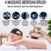 EMS Heating Negative Pressure Magnetic Wave Therapy Instrument Body Drainage Scraping GuaSha Electric Body Massage Relaxation