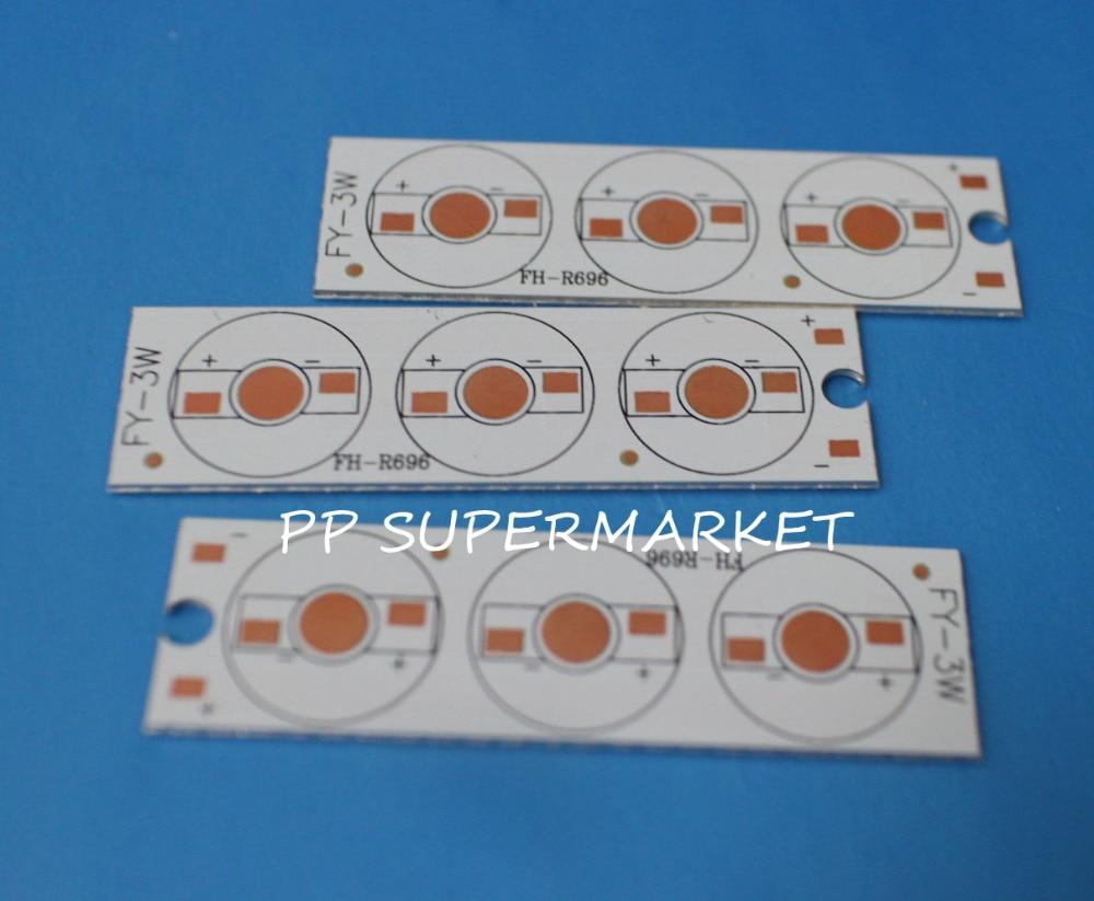 High Power 10mm 12mm Custom Led Aluminium Pcb Circuit Board T8 Oem Light Boardled Assembled Service Cerohs Approved 5pcs 21mm X 76mm For 3pcs 1w3w5w