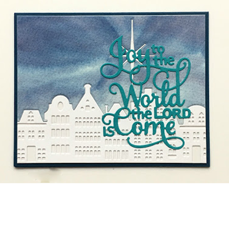 Joy To The World The Lord Is Come Metal Cutting Dies Stencils DIY Scrapbooking Album New 2019 Paper Cards Craft Embossing Word
