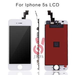 Image 2 - 10PCS כיתה + + + LCD עבור iPhone 5S LCD תצוגת מסך מגע עם digitizer עצרת החלפת Pantalla משלוח חינם DHL